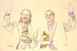 Steely Dan with Grammy Awards